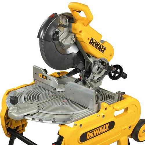 Toolstop Dewalt D27105 305mm Combination Flip Over Saw 110v