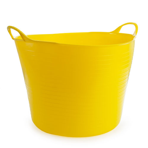 Red Gorilla SP42Y Large Yellow Flexible Tub 38L