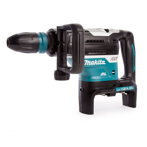 Makita DHR400ZKU Brushless 36V Rotary Hammer SDS MAX 40mm  (Body Only) - accepts 2x18V Batteries
