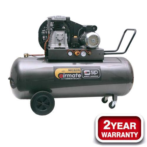SIP 06286 Airmate PNB 3800B4/150 240V Pro-Tech Compressor