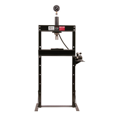 SIP 03651 12 Ton Shop Press (Hydraulic)