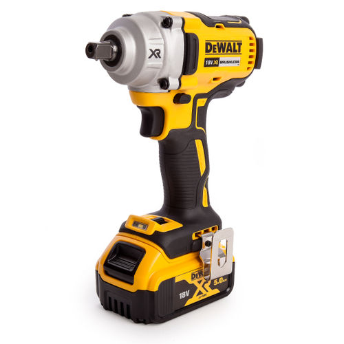 Dewalt DCF894P2 Impact Wrench High Torque 18V XR Cordless Brushless (2 x 5.0Ah Batteries)