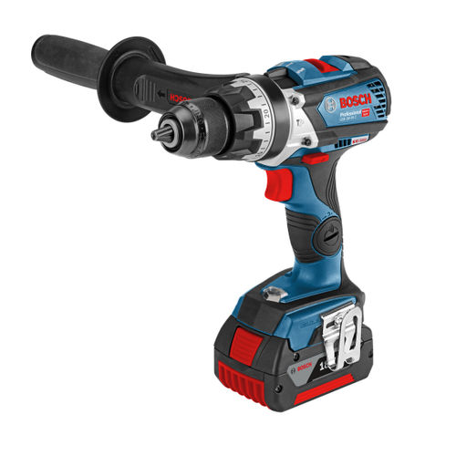 Bosch GSB 18V-85 C Professional Robust Series Brushless Heavy Duty Combi Drill (2 x 5.0Ah Batteries)