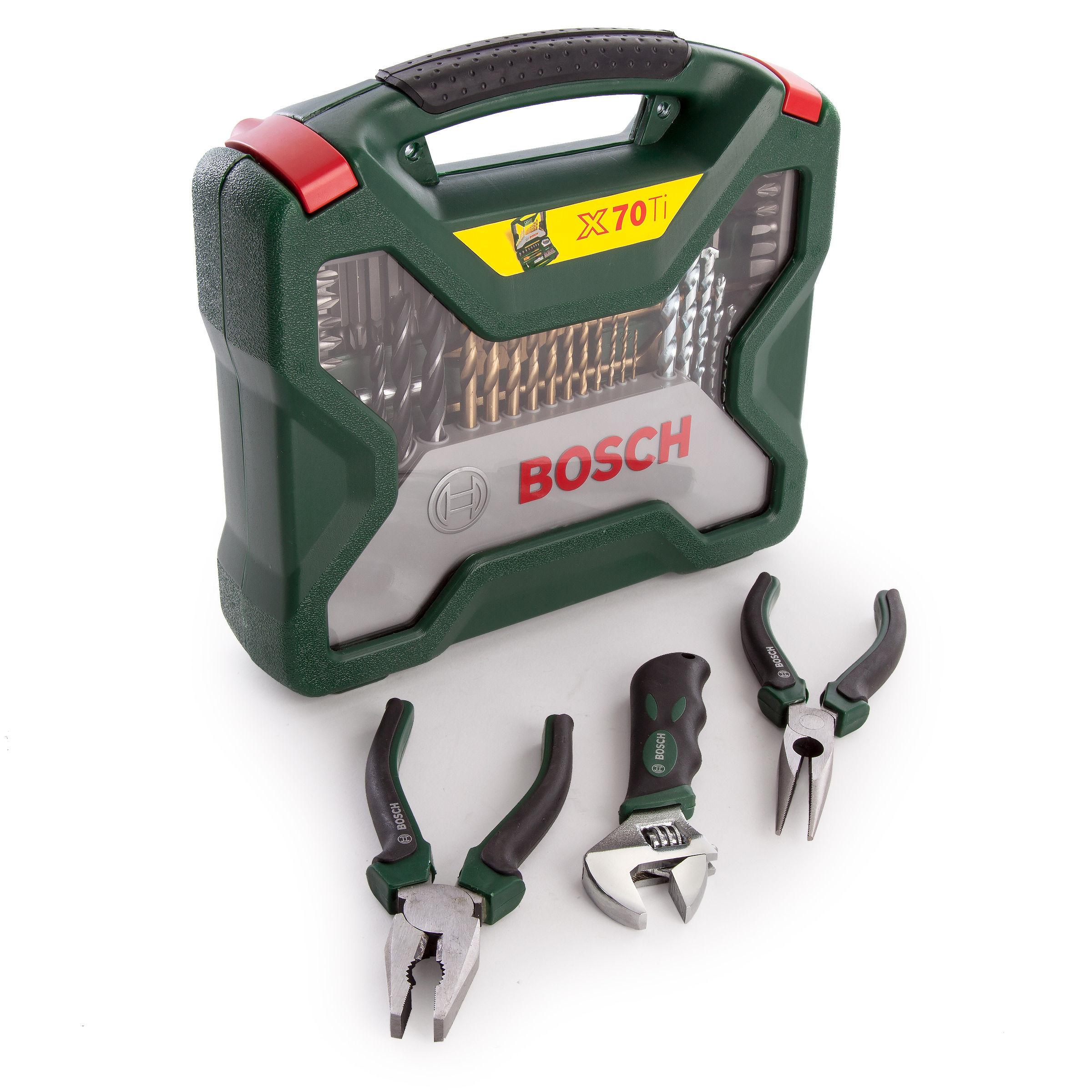 Favoriete Toolstop Bosch 2607017197 Universal X-Line Titanium Drill and Bit OF16