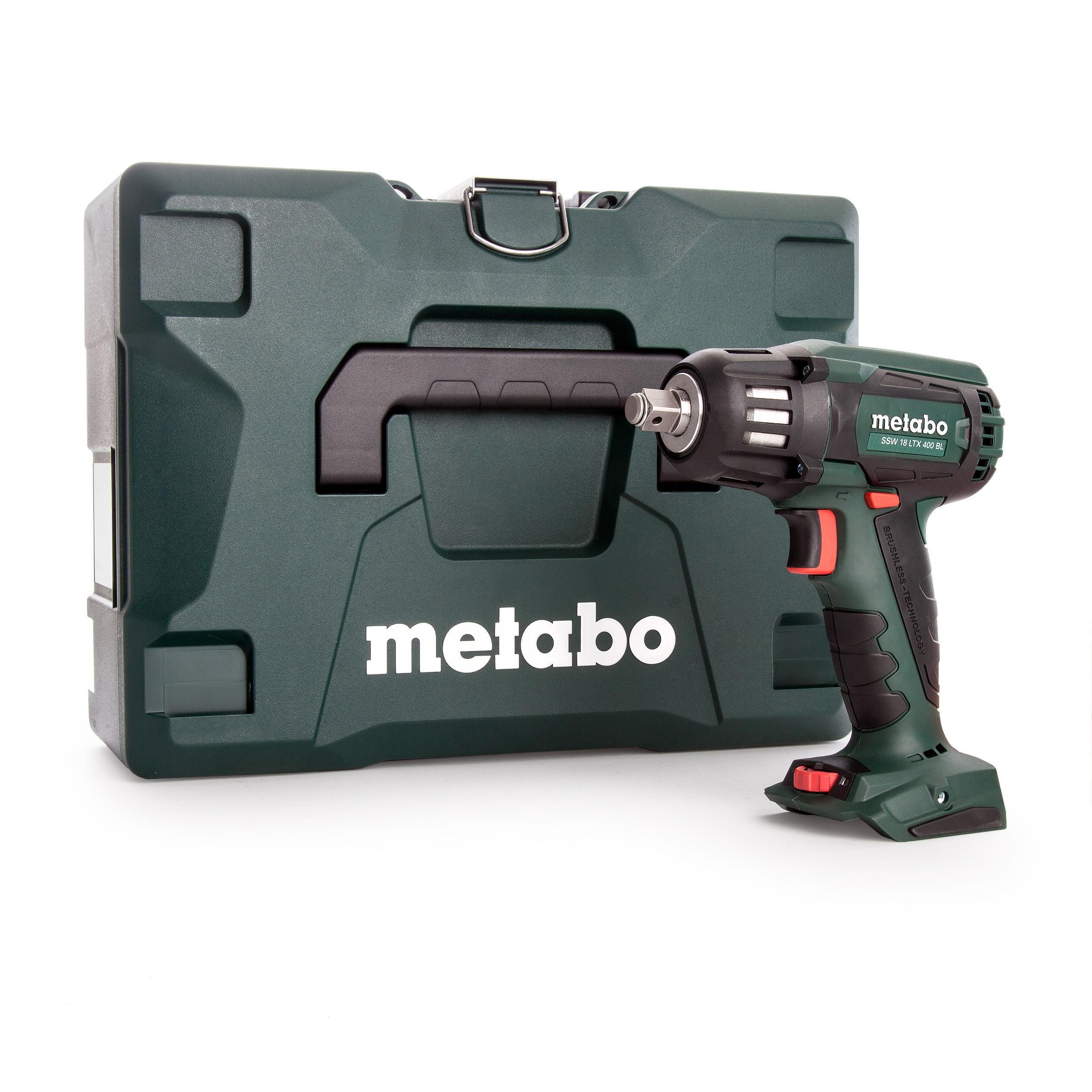 toolstop metabo ssw 18 ltx 400 bl high torque impact. Black Bedroom Furniture Sets. Home Design Ideas