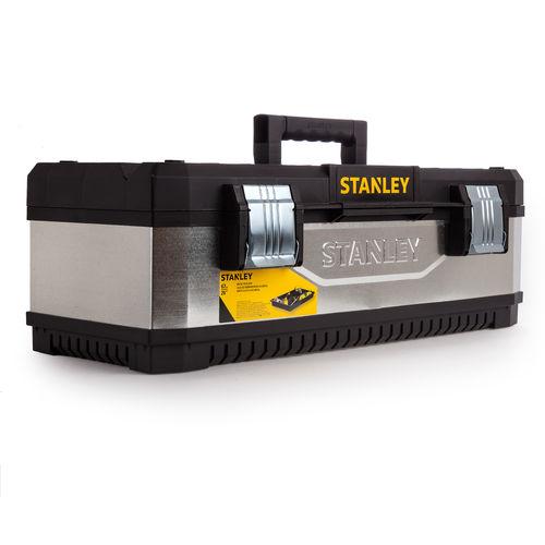 Stanley 1-95-620 Galvanised Metal / Plastic Toolbox 26 Inch