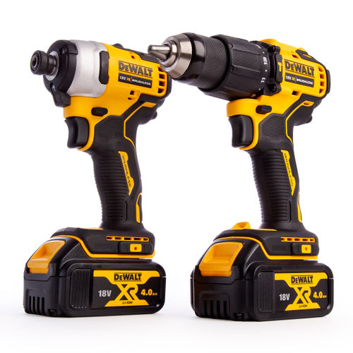 Dewalt DCK2062M2T 18V XR Brushless 2 Piece Kit (2 x 4.0Ah Batteries)