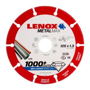 Lenox 2030866 MetalMax Diamond Cut Off Wheel 125mm x 1.3mm x 22.23mm
