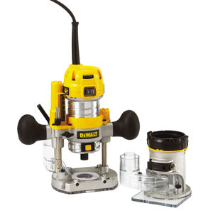 Dewalt D26204K 1/4in Combination Plunge & Fixed Base Router