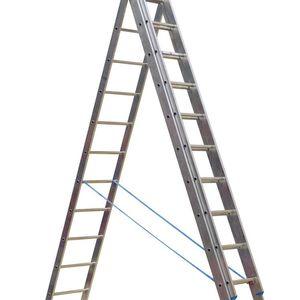 Sealey ACL312 Aluminium Extension Combination Ladder 3x12 En 131