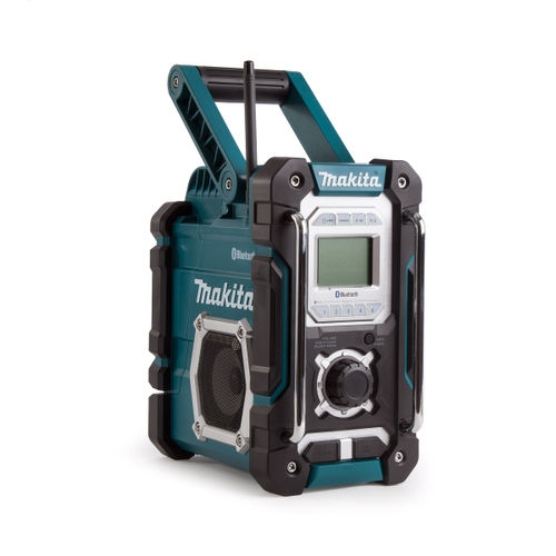 toolstop makita dmr108 jobsite radio with bluetooth. Black Bedroom Furniture Sets. Home Design Ideas