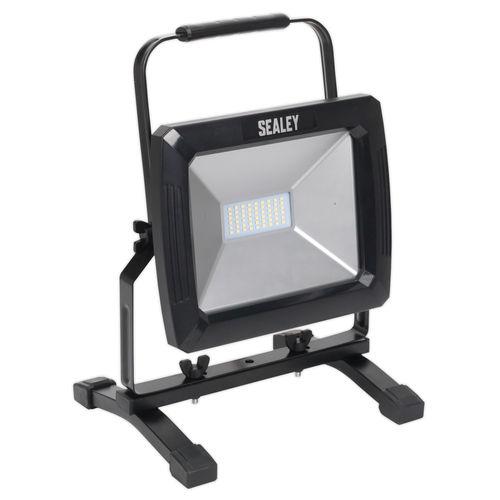 Sealey LED095 Portable Floodlight 50w Smd Led 110v