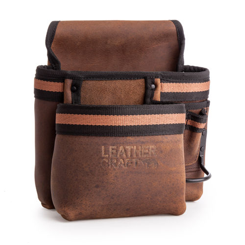 Leather Craft LC503 Single Pouch with Hammer Holder