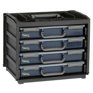 Raaco 136242 Portable Handy Box + 4 A4 Assorters