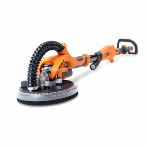 Evolution R225DWS Telescopic Dry Wall Sander 225mm with LED Torch and 6 Sanding Sheets 240V