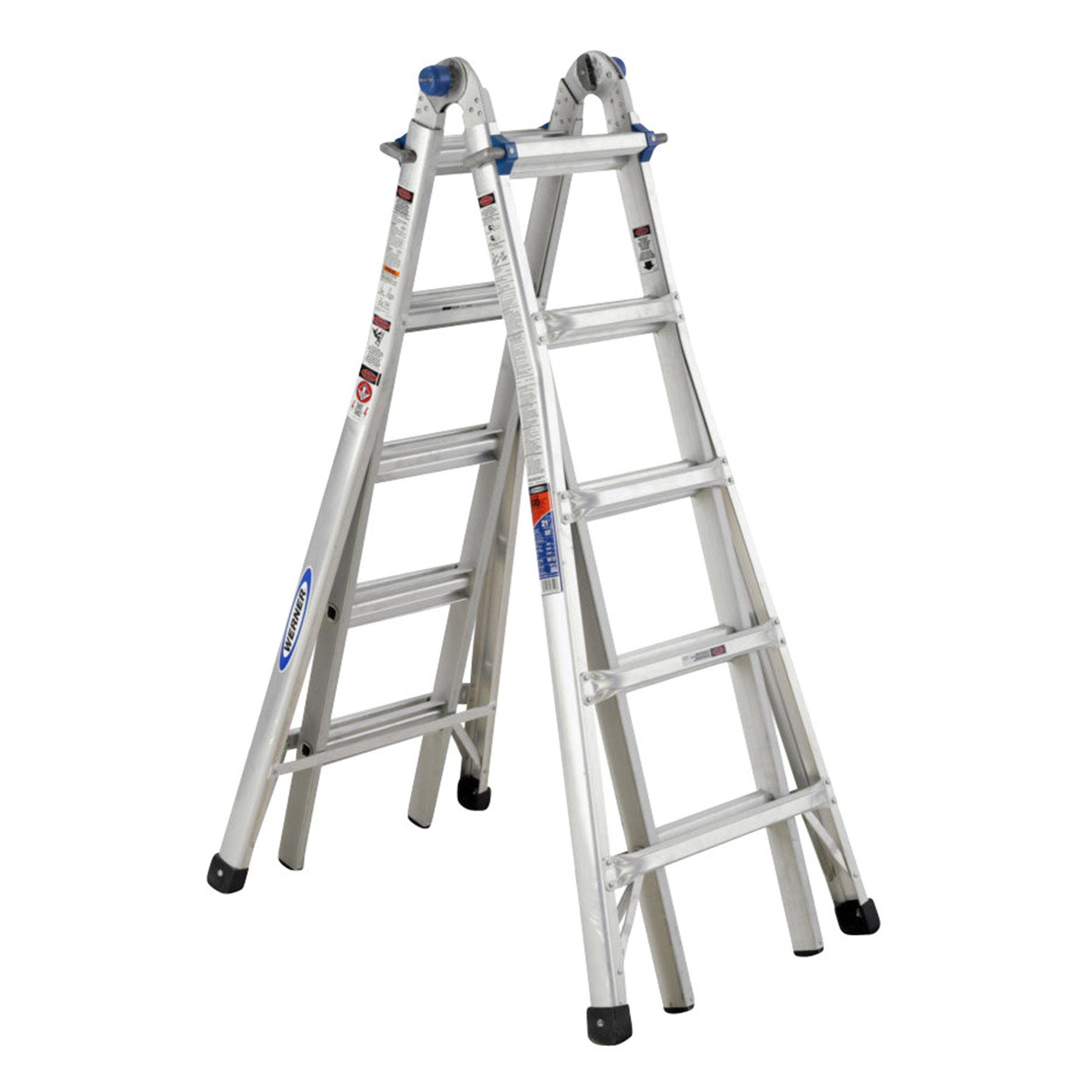 Toolstop Werner 75055 5.79M Telescopic Combination Ladder