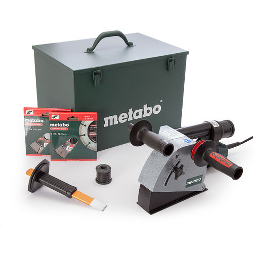 Metabo MFE30 1400W Wall Chaser with 2 x Diamond Blades 240V