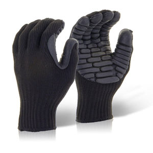 Beeswift BS054 Glovezilla Anti Vibration Glove Black