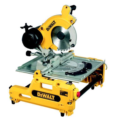 Dewalt DW743N 250mm Combination Flip Over Saw 110V