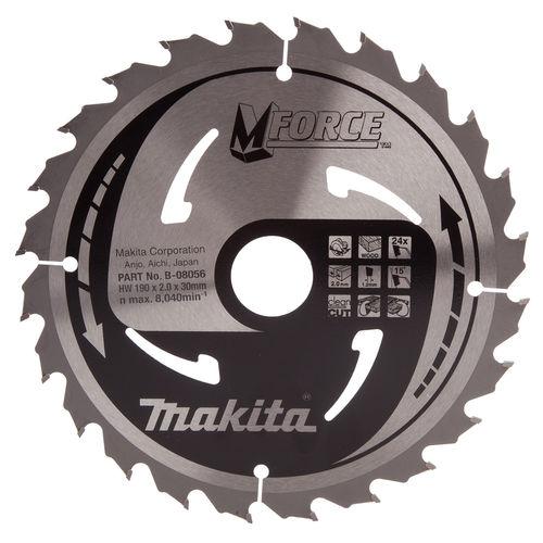 Makita B-08056 M Force Circular Saw Blade Medium Cut 190mm