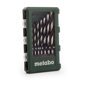 Metabo 6.26705 Wood Drill Bits in Case 8 Pieces