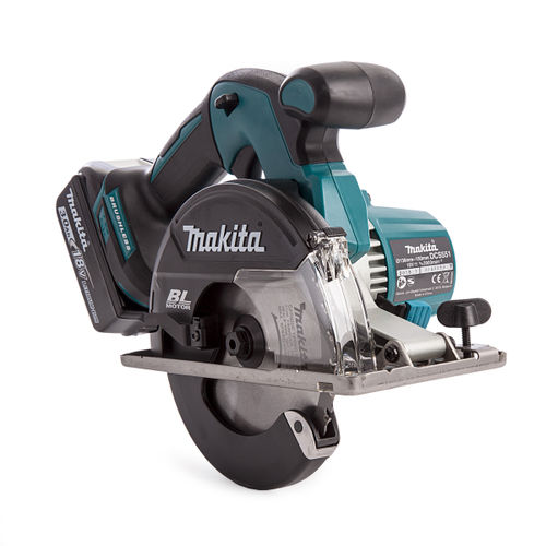 Makita DCS551 150mm 18V Metal Saw with DC18RC Charger in Makpac Case (2 x 3.0Ah Batteries)