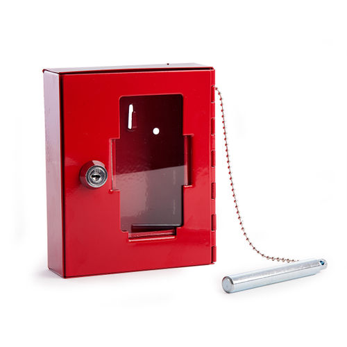 Sterling EB01 Red Emergency Key Box and Hammer