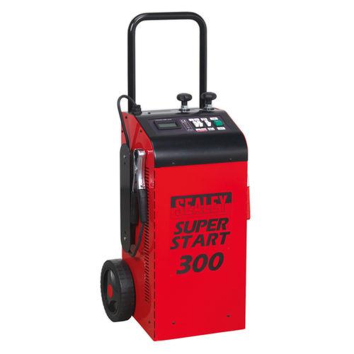 Sealey SUPERSTART300 Starter/Charger 300Amp 12/24V