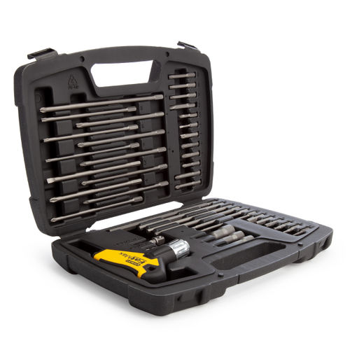 Stanley 0-96-222 FatMax T Handle Ratchet Power Key Set (43 Piece)