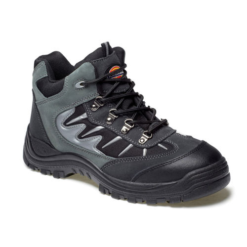 Dickies FA23385A Storm Super Safety Trainer Grey / Black - Size 10