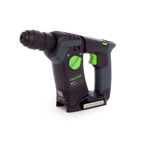 Festool 574723 18V Cordless SDS+ Hammer Drill BHC 18V Li-Basic (Body Only)