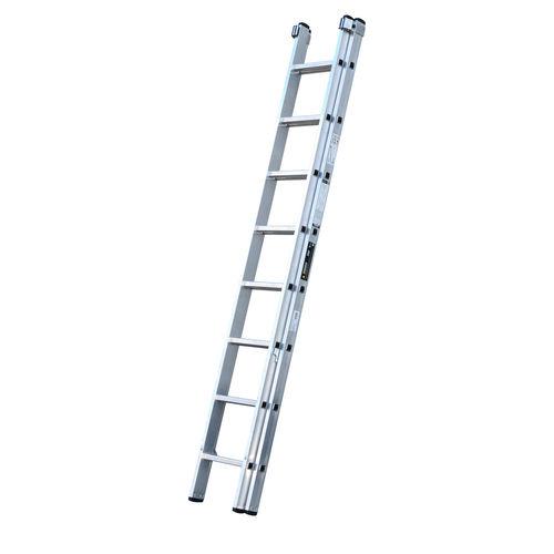 Youngman 570111 Trade 200 2 Section Aluminium Extension Ladder 2.50 - 3.95 Metres