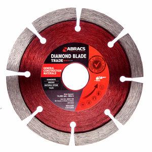 Abracs ABDD115M Diamond Blade General Purpose 115 x 10 x 22mm
