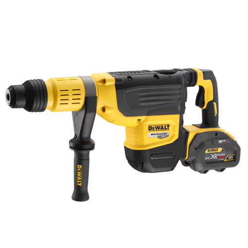 Dewalt DCH773Y2 54V XR Flexvolt SDS Max Rotary Hammer Drill 52mm (2 x 12.0Ah Batteries)