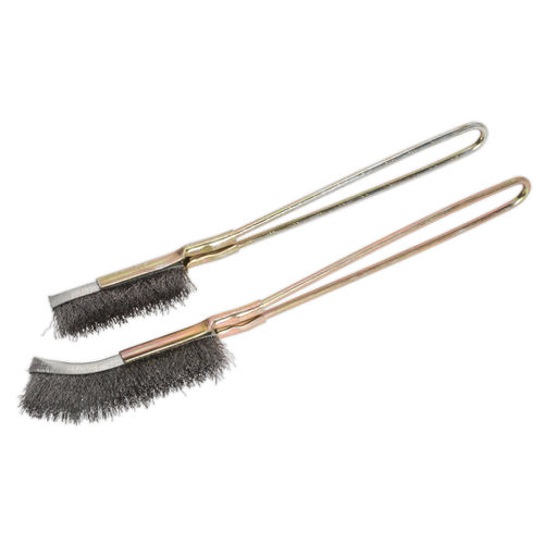 Sealey WB06 Wire Brush Set (2 Piece)