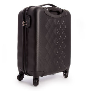 Toolstop Cabin Luggage Approved Size with Telescopic Handle and Wheels (54 x 36 x 23cm)