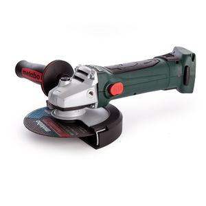 Metabo 600404840 W18LTX 150 Quick Cordless Angle Grinder 150mm / 6 Inch in Metaloc Case (Body Only)