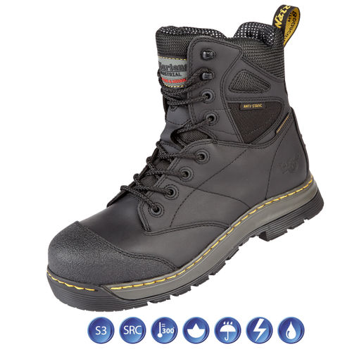 Dr Martens 6922 Torrent ST Black Waterproof Metal Free Safety Boot (Heat & Slip Resistant) Size 11