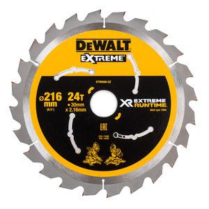 Dewalt DT99568 XR Extreme Runtime Mitre Saw Blade 216mm x 30mm x 24T