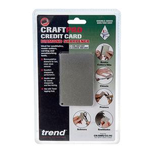 Trend Diamond Sharpening CR/DWS/CC/FC Craftpro Credit Card Sharpening Stone