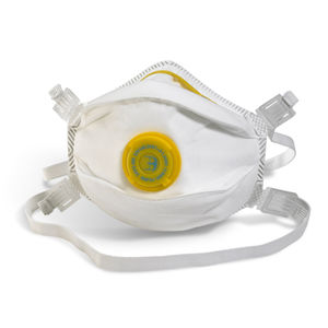 Beeswift BS033 Moulded Valved Respirator FFP3 (Single Pack)