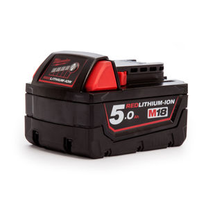 Milwaukee M18 Red Lithium-Ion Battery 5.0Ah