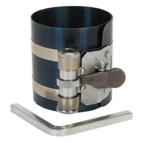 Sealey VS155 Piston Ring Compressor 75mm ∅60-125mm