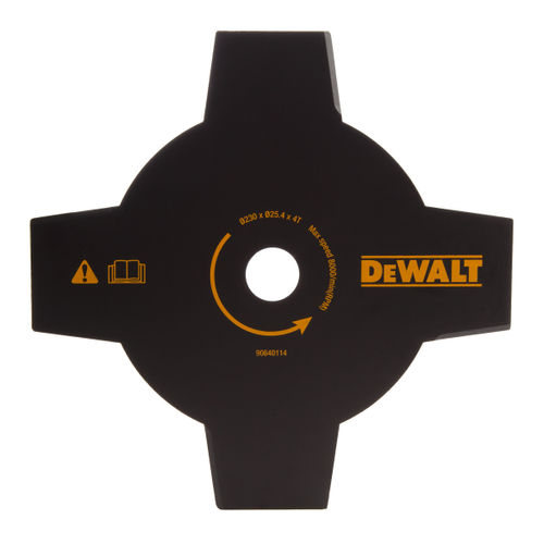Dewalt DT20655 4 Tooth Brush Cutter Blade For Trimmer 230mm