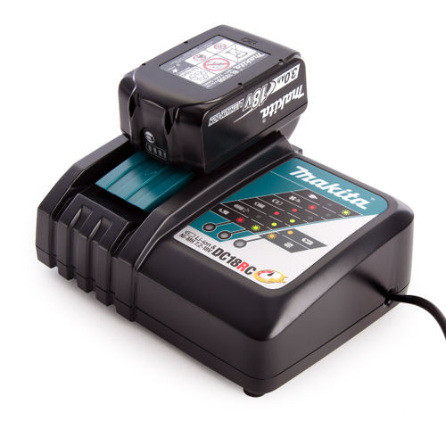 Makita DC18RC Charger + BL1830B 3.0Ah Battery