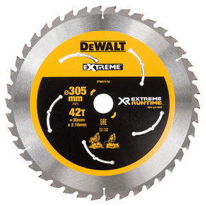 Dewalt DT99574 XR Extreme Runtime Mitre Saw Blade 305mm x 30mm x 42T