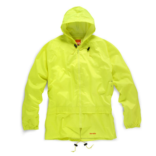 Scruffs T51054 Rainsuit Jacket and Trouser (Yellow) - LARGE