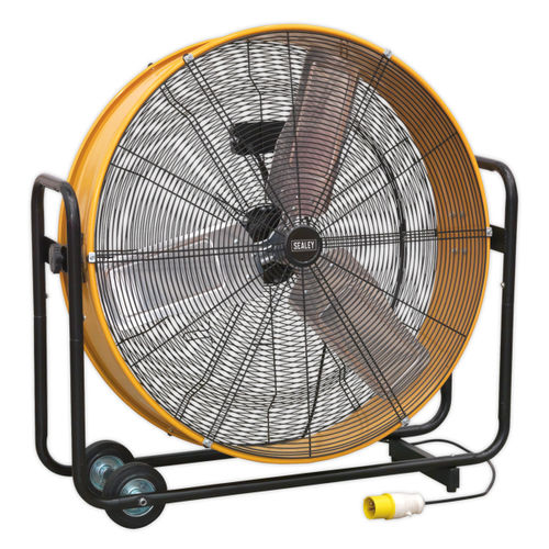 "Sealey HVD30110V 30"" Industrial High Velocity Drum Fan 110V"