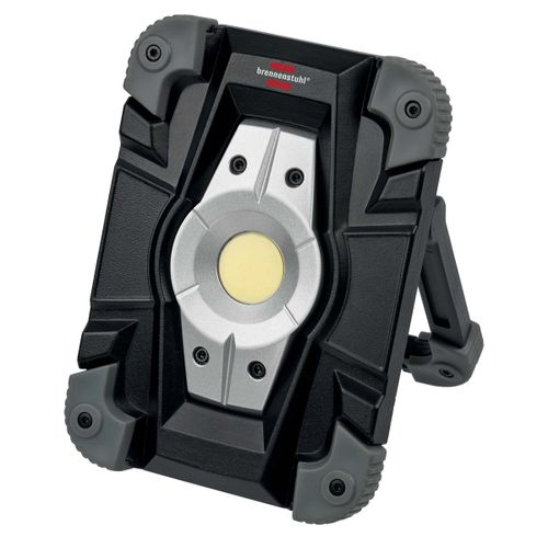 Brennenstuhl 1173080 LED Rechargeable Worklamp 1000lm, 10W, IP54 with USB Cable