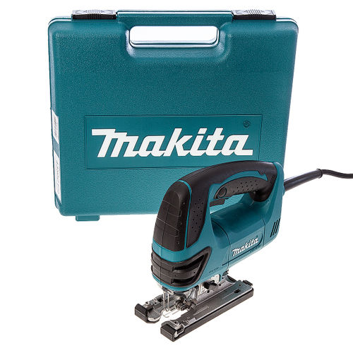 Makita 4350CT Jigsaw Orbital Action with Tool-less Blade Fixing 110V